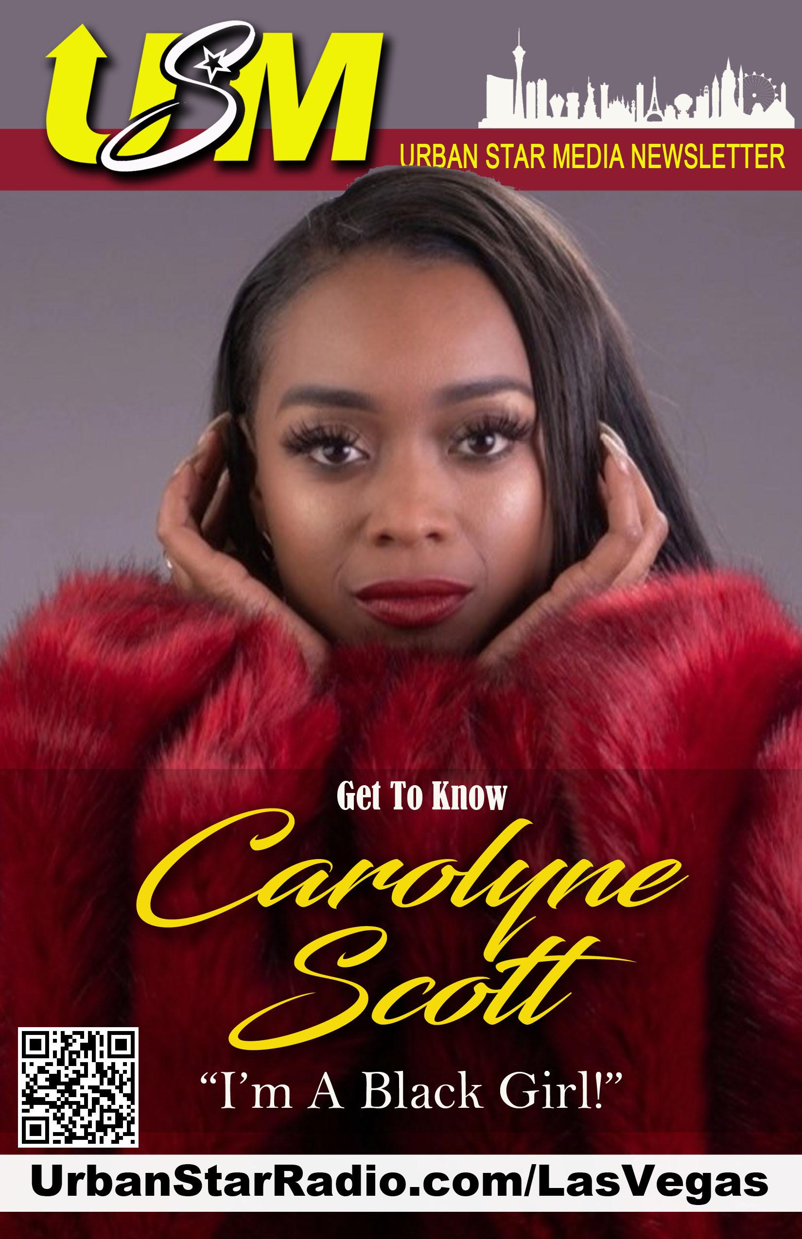 Urban Star Newsletter Cover Carolyne